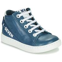 Sapatos Rapaz Sapatilhas de cano-alto Little Mary LUCKY Azul