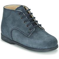 Sapatos Rapaz Botas baixas Little Mary MILOT Azul