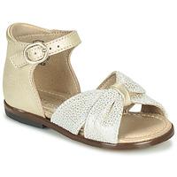Sapatos Rapariga Sandálias Little Mary DIANA Ouro