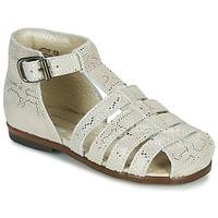 Sapatos Rapariga Sandálias Little Mary JULES Ouro