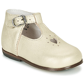 Sapatos Rapariga Sandálias Little Mary NANNY SP Ouro