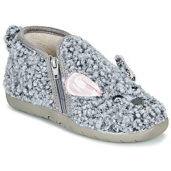Sapatos Criança Chinelos Little Mary LAPINZIP Cinza