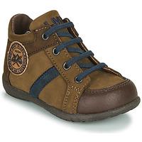 Sapatos Rapaz Botas baixas Little Mary COQUIN Castanho