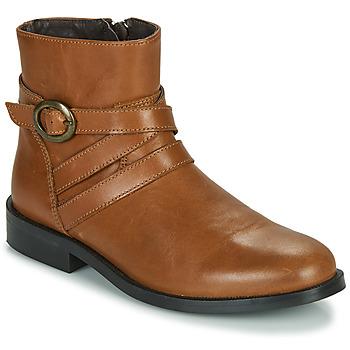 Sapatos Rapariga Botas baixas Little Mary TIMOTHY Conhaque