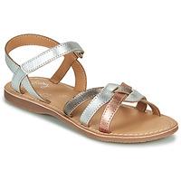 Sapatos Rapariga Sandálias Little Mary LIGHT Prata / Bronze / Rosa / Ouro