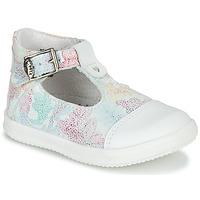 Sapatos Rapariga Sandálias Little Mary VALSEUSE Branco / Multicolor