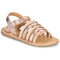 Sapatos Rapariga Sandálias Little Mary BARBADE Rosa