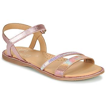 Sapatos Rapariga Sandálias Little Mary DOLERON Rosa