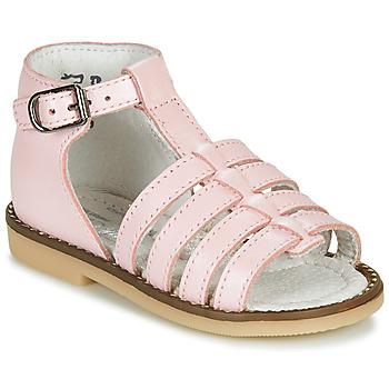Sapatos Rapariga Sandálias Little Mary HOLIDAY Rosa