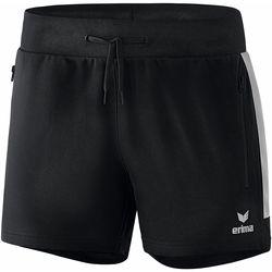 Textil Mulher Shorts / Bermudas Erima Short femme  Worker Squad noir/blanc