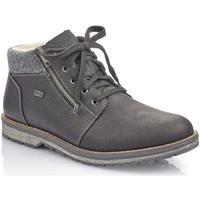Sapatos Homem Botas baixas Rieker Michigan Filz Boots Black