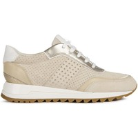 Sapatos Mulher Sapatilhas Geox D Tabelya Trainers Beige