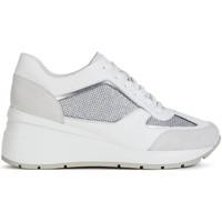Sapatos Mulher Sapatilhas Geox D Zosma Trainers Grey