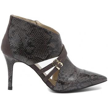 Sapatos Mulher Botas baixas Café Noir CAFèNOIR PITONATO PINTA GRIGIO Multicolore
