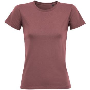 Textil Mulher T-Shirt mangas curtas Sols 02758 Antigo Rosa