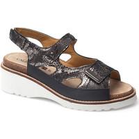 Sapatos Mulher Sandálias Calzamedi SANDAL  THANA PRETO
