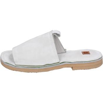 Sapatos Mulher Chinelos Moma BK121 Branco