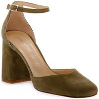Sapatos Mulher Escarpim Priv Lab KAKY CAMOSCIO Verde