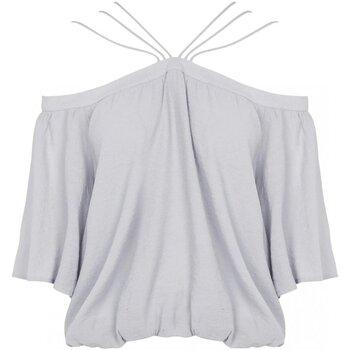 Textil Mulher Tops / Blusas See U Soon 20111182 Cinza
