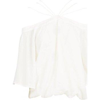 Textil Mulher Tops / Blusas See U Soon 20111182 Branco