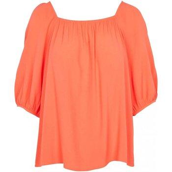 Textil Mulher Tops / Blusas See U Soon 20111195 Laranja