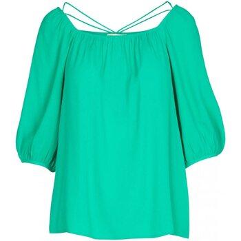 Textil Mulher Tops / Blusas See U Soon 20111195 Verde