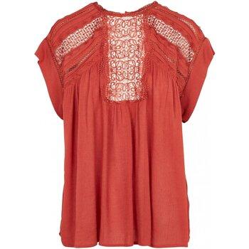 Textil Mulher Tops / Blusas See U Soon 20112148 Laranja