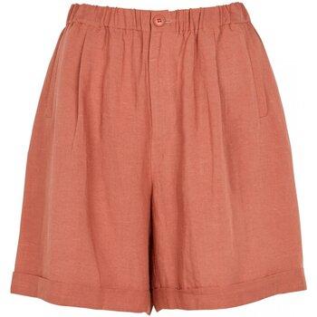 Textil Mulher Shorts / Bermudas See U Soon 20149126B Laranja