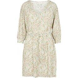 Textil Mulher Vestidos curtos See U Soon 20121192 Bege