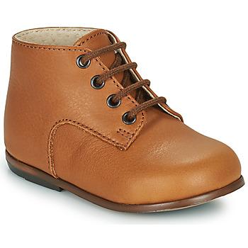 Sapatos Criança Sapatilhas de cano-alto Little Mary MILOTO Castanho