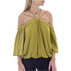 Textil Mulher Tops / Blusas See U Soon 20111182 Verde