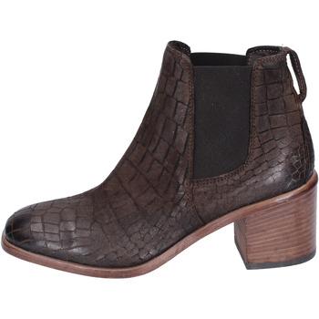 Sapatos Mulher Botins Moma BK149 Castanho