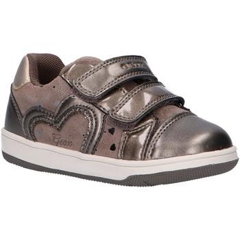 Sapatos Rapariga Sapatilhas Geox B041HA 007NF B NEW FLICK Gris