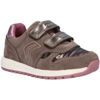 Sapatos Rapariga Sapatilhas Geox B023ZA 022AY B ALBEN Gris
