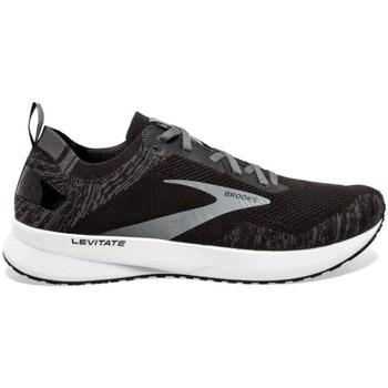 Sapatos Homem Sapatilhas de corrida Brooks Levitate 4 M Preto