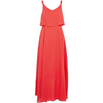 Textil Mulher Vestidos compridos Molly Bracken T1202P20 Laranja