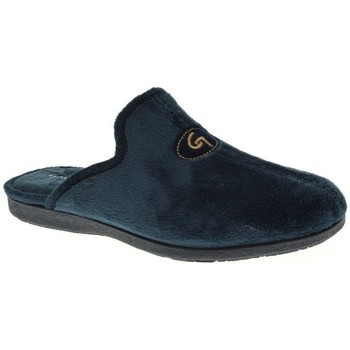 Sapatos Homem Chinelos Garzon 6101 Azul