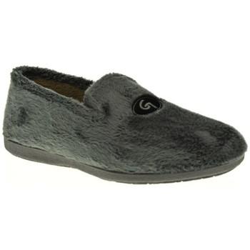 Sapatos Homem Chinelos Garzon 6501 Gris