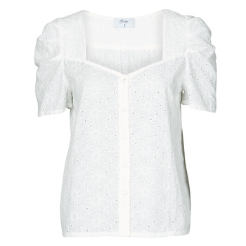 Textil Mulher Tops / Blusas Betty London OOPSO Branco