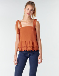 Textil Mulher Tops / Blusas Betty London OULINE Ferrugem