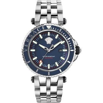 Relógios & jóias Homem Relógios Analógicos Versace VEAK00418 azul