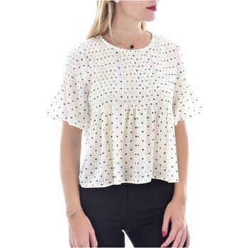 Textil Mulher Tops / Blusas See U Soon 20119097B Branco