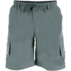 Textil Homem Shorts / Bermudas Duke  Cinza
