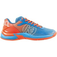 Sapatos Rapaz Fitness / Training  Kempa Chaussures enfant  Attack 2.0 bleu/rouge fluo