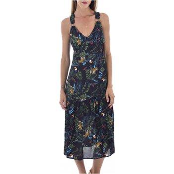 Textil Mulher Vestidos compridos See U Soon 20121060B Preto