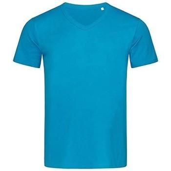 Textil Homem T-Shirt mangas curtas Stedman Stars  Azul Hawaii