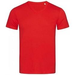 Textil Homem T-Shirt mangas curtas Stedman Stars  Vermelho carmesim
