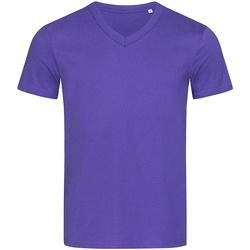 Textil Homem T-Shirt mangas curtas Stedman Stars  Lilás profundo
