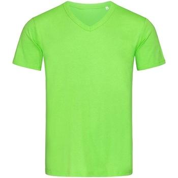 Textil Homem T-Shirt mangas curtas Stedman Stars  Flash Verde