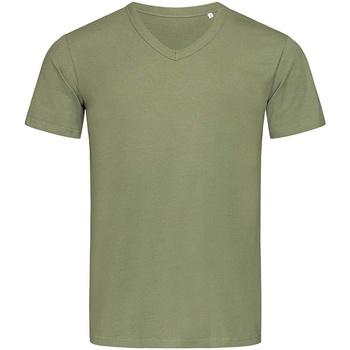 Textil Homem T-Shirt mangas curtas Stedman Stars  Verde Militar